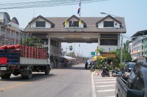 Grenzübergang Mae Sot