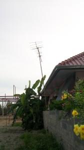 mit Antenne zur WM